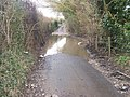 Flooding on Butchers Lane - geograph.org.uk - 1178587.jpg