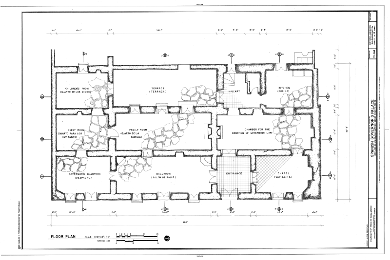 File Floor Plan Spanish Governor S Palace 105 Plaza De