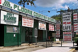 The historic Floore Country Store in Helotes
