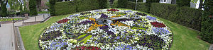 Floral clock - Image: Floral Clock Ch Ch gobeirne
