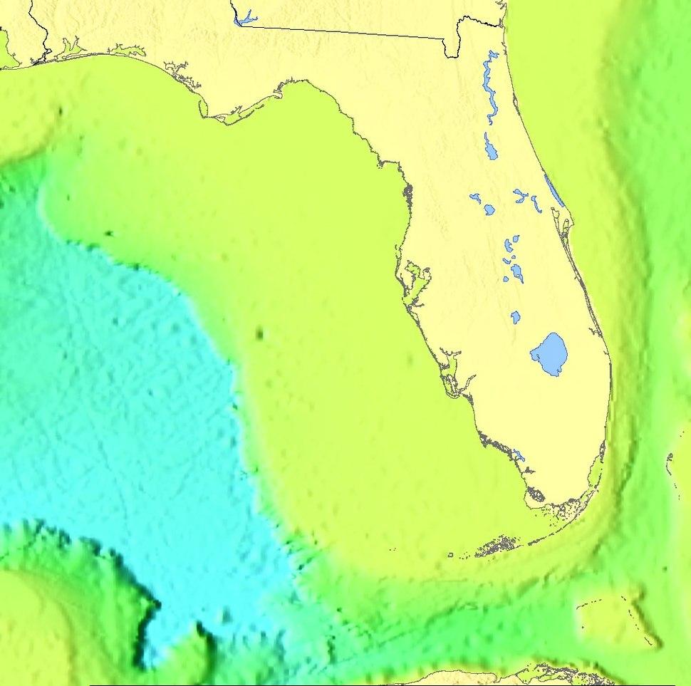 Florida plateau