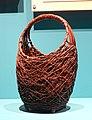 Flower basket (hanakago), Japan, 1800s-1900s, bamboo, plant fiber - Fowler Museum - University of California, Los Angeles - DSC02348.jpg