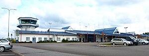 Flughafen Kajaani 01