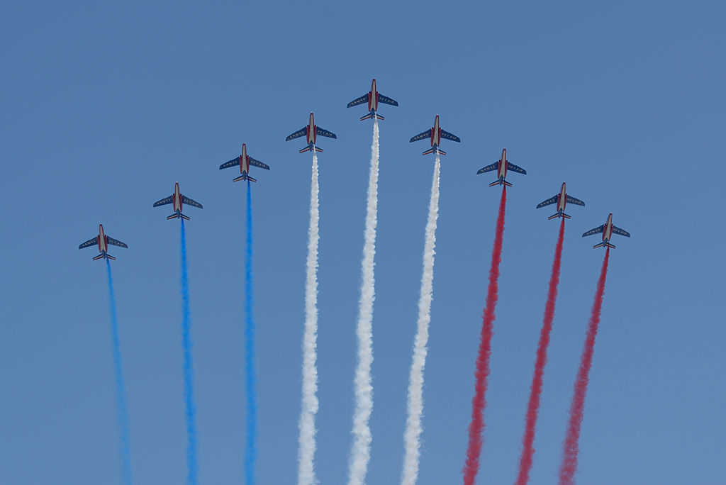 Fly-past Bastille Day 2013 Paris t104027
