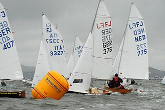 Flying Junior - Int. FJ's, Worlds 2007, San Francisco Bay