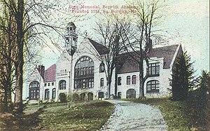 Berwick Academy (Maine) - Fogg Memorial Building c. 1910