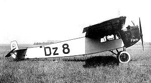 Fokker F.III - Image: Fokkf 3