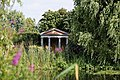 Folly temple waterside plants Capel Manor College Gardens Enfield London England.jpg