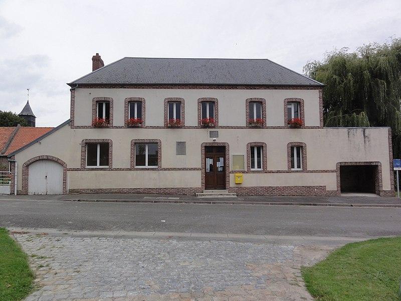 Fontaine-Uterte (Aisne) mairie et école