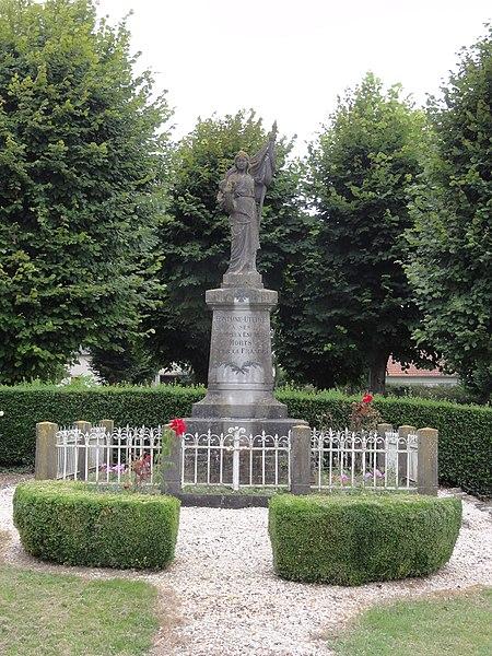 Fontaine-Uterte (Aisne) monument aux morts