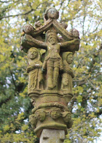 Fontaine et calvaire Saint-Adrien (Saint-Barthélemy)