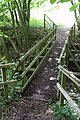Footbridge Over Stream - geograph.org.uk - 464240.jpg