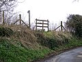 Footpath, West Stour - geograph.org.uk - 1155514.jpg
