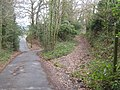Footpath junction on Trevereux Hill - geograph.org.uk - 1755690.jpg