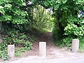 Footpath to the woods, Oughtibridge Lane, Oughtibridge - geograph.org.uk - 822741.jpg