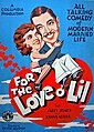 For the Love o' Lil (1930) poster.jpg