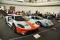 Ford GT 2018 and Ford GT 1968 at Legendy 2019 in Prague.jpg