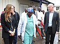 Foreign Secretary and Angelina Jolie visit the Heal Africa hopital in Goma (8612210069).jpg