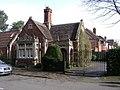 Former lodge, corner of Myton Road and Myton Lane - geograph.org.uk - 1336887.jpg