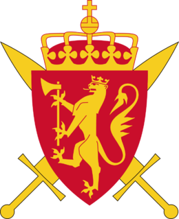military organization responsible for the defence of Norway