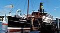 Foto, http-www.fleno.de Salondampfer Alexandra http-www.dampfer-alexandra.de im Flensburger Hafen - Flensburg - Schwimmendes Wahrzeichen der Stadt Flensburg - panoramio.jpg