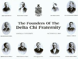 Delta Chi - The founders of the Delta Chi Fraternity