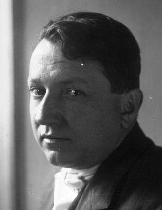 Grand Prix du roman de l'Académie française - Image: Francis Carco 1923