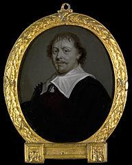 Portrait of Franciscus Planté, Clergyman at Zevenbergen and in Brazil