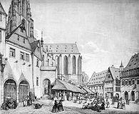 Frankfurt Am Main-Peter Becker-BAAF-028-Der Weckmarkt-1856.jpg