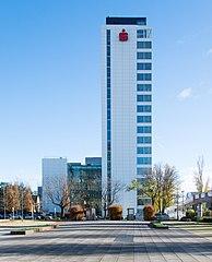 Frankfurt Theodor-Heuss-Allee 90.Sparkassen Informatik.West.20131124.jpg