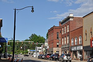 Franklin, New Hampshire - Central Street