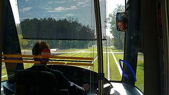 Bordeaux tramway - Driver's compartment