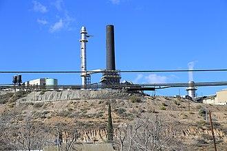 Claypool, Arizona - Freeport Mcmoran Copper Smelter, Claypool