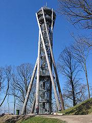 מגדל התצפית בגבעת Schlossberg