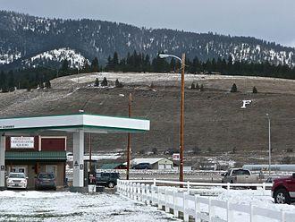 Frenchtown, Montana - Image: Frenchtown Montana near F