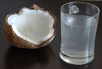 Coconut water - Coconut water