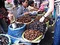 Fried tarantulae crickets Cambodia.jpg