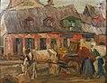 Friedrich August Herkendell - Straßenszene aus Lublin, 1918.jpg