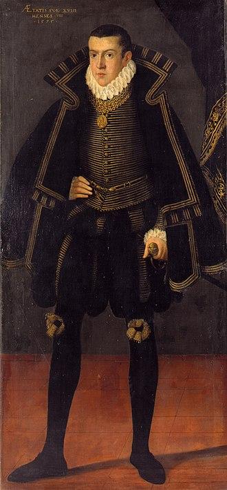 Frederick, Count Palatine of Zweibrücken-Vohenstrauss-Parkstein - Image: Friedrich von Pfalz Vohenstrauß Parkstein