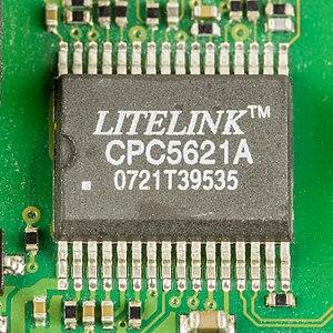 IXYS Corporation - Litelink CPC5621A, a phone line interface IC (DAA)
