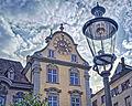 Fronwagturm Schaffhausen mit astronomischer Uhr.jpg