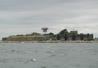 Fort Wool - Fort Wool Island from the Miss Hampton boat cruise