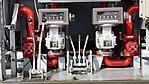 Fuel meters of JASDF 2000-gallon aircraft refueller truck kai(UD Quon, 47-3444) at Kasuga Air Base November 25, 2017.jpg