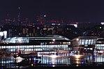 Fukuoka Airport International Terminal by night; April 2016.jpg