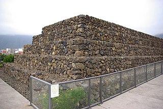 pyramid i provinsen de Santa Cruz de Tenerife och regionen Kanarieöarna i Spanien
