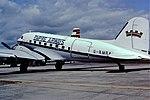 G-AMRA DC3 Air atlantique Fairford 22-07-91 (30516060200).jpg