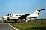 G-BRON Beech King Air Executive express CVT 03-03-80 (38415034421).jpg