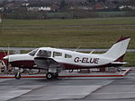 G-ELUE Piper Warrior (23595636652).jpg