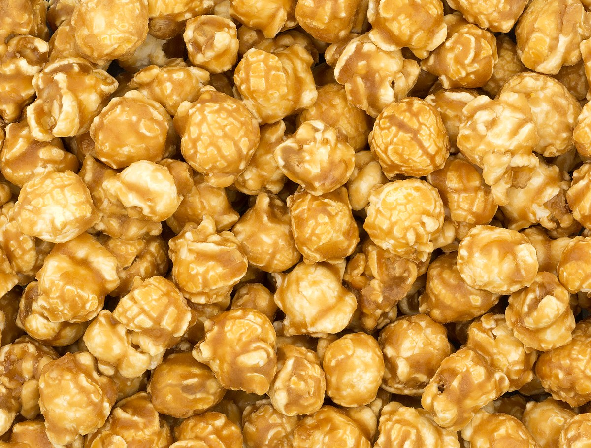 Caramel corn - Wikipedia