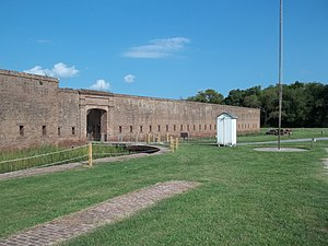 Republican Blues - Image: GA Savannah Fort Jackson 04